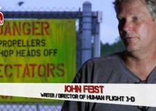 John Feist – the writer/director of Human Flight 3D