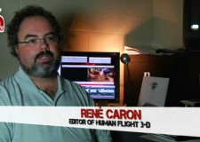 René Caron – the editor of Human Flight 3D