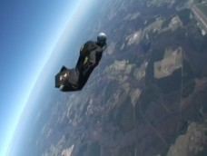 Golden Knights wingsuit record