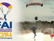 5th FAI World Canopy Piloting Championships 3-7 Nov 2014