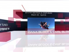 WATCH LIVE FROM PIA SYMPOSIUM ON SKYDIVE TV- DANA BLOCK