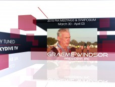 WATCH LIVE FROM PIA SYMPOSIUM ON SKYDIVE TV- Graeme Windsor