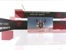 WATCH LIVE FROM PIA SYMPOSIUM ON SKYDIVE TV- JEN SHARP
