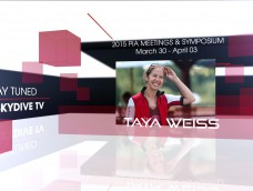 WATCH LIVE FROM PIA SYMPOSIUM ON SKYDIVE TV- Taya Weiss