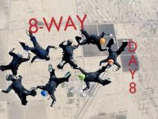 2015 USPA National Skydiving Championships – DAY 8 – Highlights 8-Way