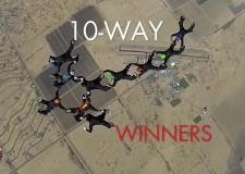 2015 USPA National Skydiving Championships – WINNERS – 10-WAY