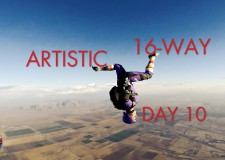 2015 USPA National Skydiving Championships – DAY 10 – Highlights 16-WAY, Artistic