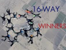 2015 USPA National Skydiving Championships – WINNERS – 16-WAY