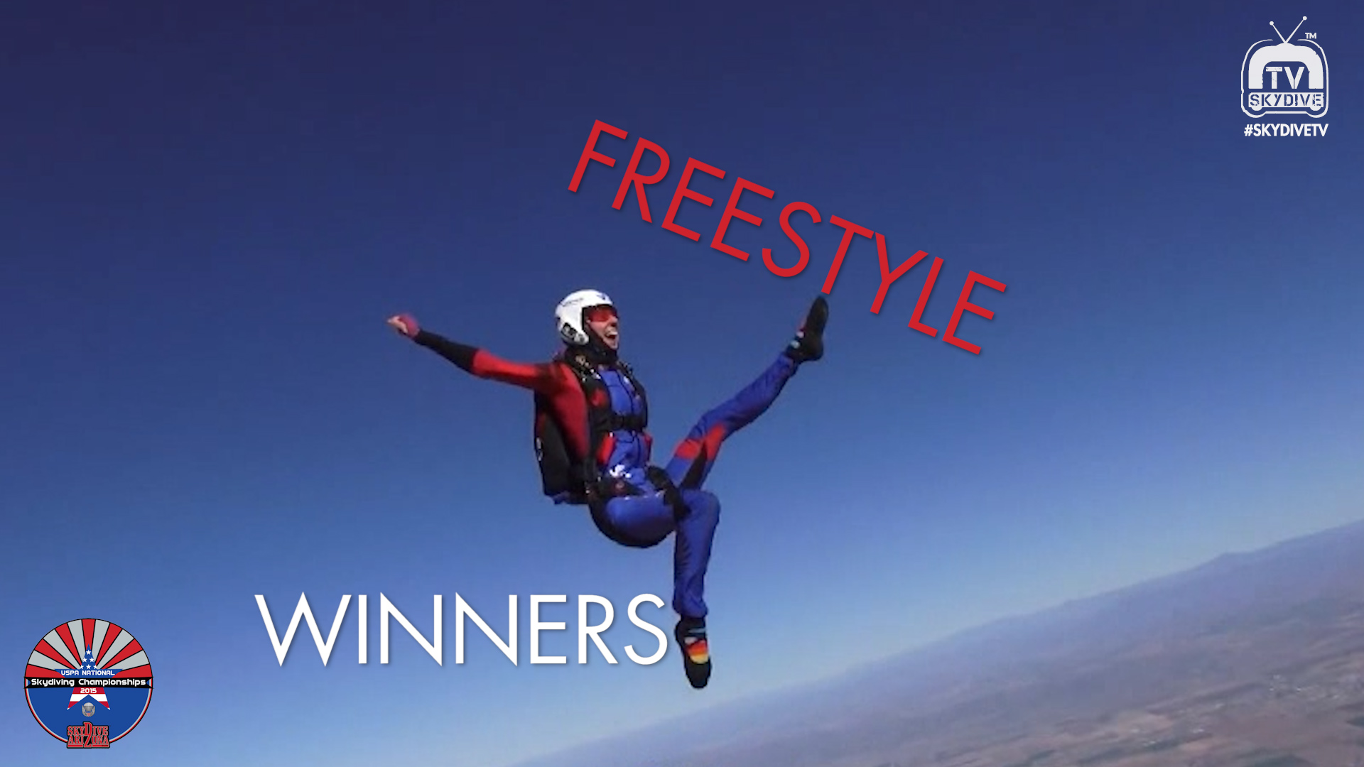 Freestyle Skydiving Winners