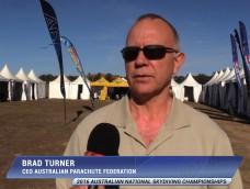 BRAD TURNER – CEO AUSTRALIAN PARACHUTE FEDERATION