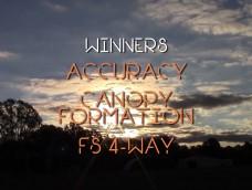 2016 AUSTRALIAN NATIONAL SKYDIVING CHAMPIONSHIPS – DAY 5 – Winners