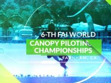 Promo – 6TH FAI WORLD CANOPY PILOTING CHAMPIONSHIPS
