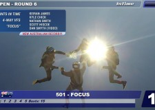 "2016 AUSTRALIAN NATIONAL SKYDIVING CHAMPIONSHIPS – 4 WAY VFS Team ""FOCUS""- AUSTRALIAN RECORD"