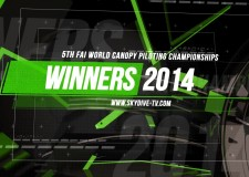 The Champions – 5th FAI World Canopy Piloting Championships 2014