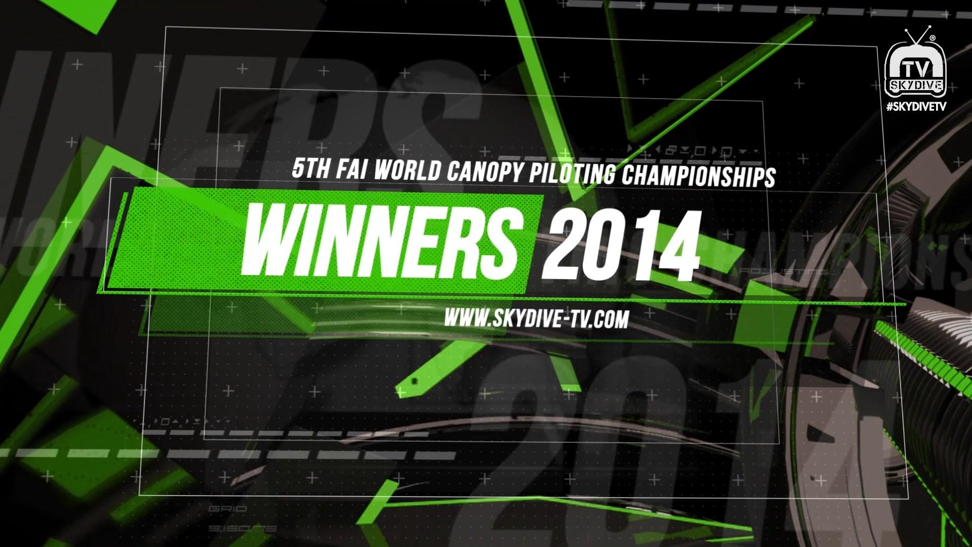 The Champions-5th FAI World Canopy Piloting Championships 2014