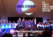 Award Ceremony – 2016 FAI World Parachuting Championships – Mondial