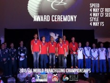 EPISODE 9 – Award Ceremony – 2016 FAI World Parachuting Championships – Mondial