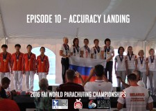 EPISODE 10 – Award Ceremony – 2016 FAI World Parachuting Championships – Mondial