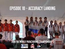 EPISODE 10 – Award Ceremony – 2016 FAI World Parachuting Championships – Mondial