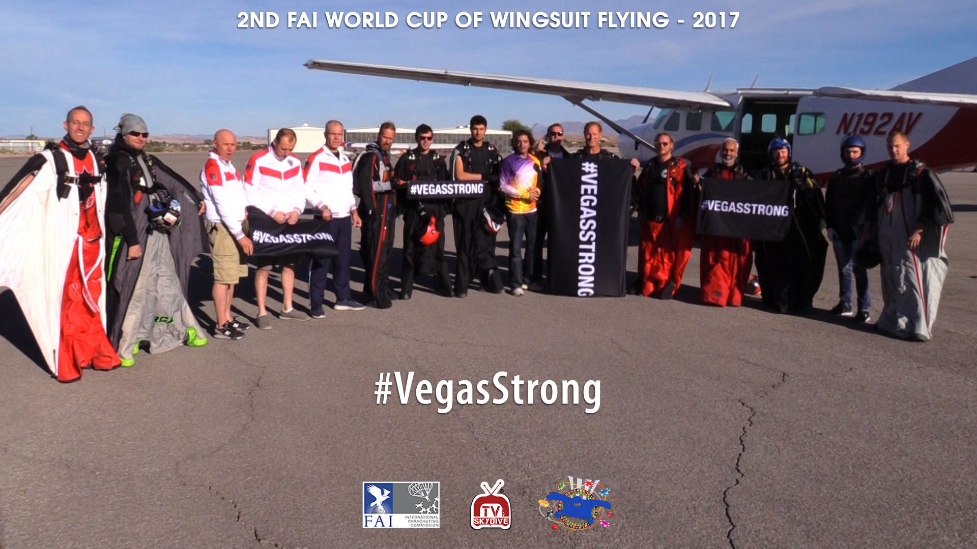 2ND FAI WORLD CUP OF WINGSUIT FLYING at Skydive Fyrosity – #VegasStrong